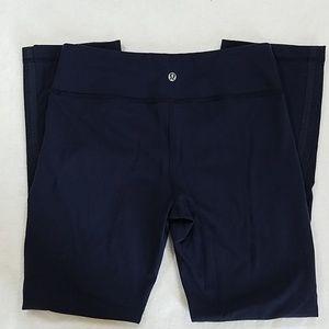 Lululemon Athletic Capri Leggings Navy Size 6